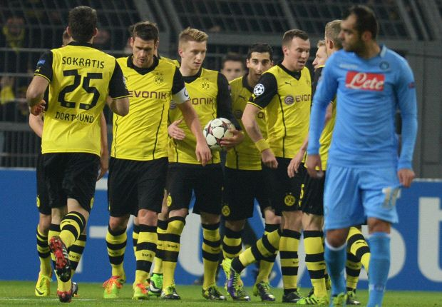 Klopp thrilled with Dortmund defence in 'spectacular' Napoli win