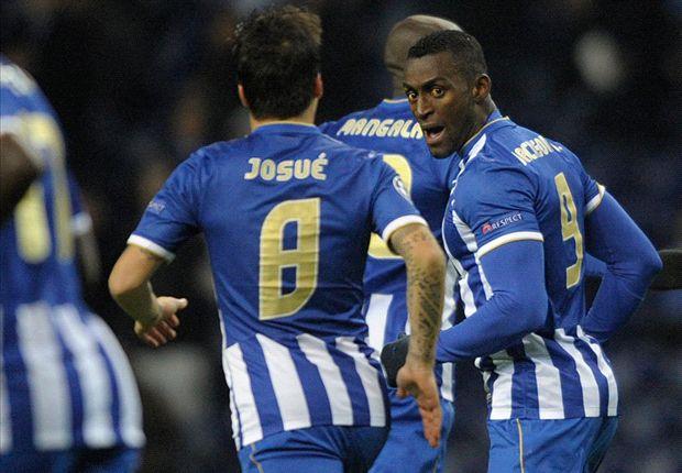 Porto 1-1 Austria Vienna: Martinez keeps last 16 hopes alive