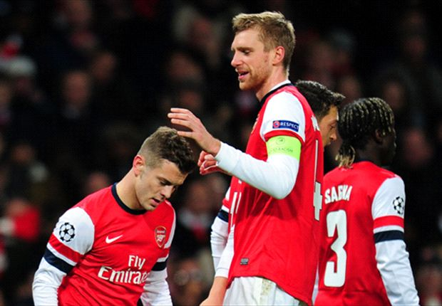 Mertesacker: Arsenal needs two perfect games to beat Bayern Munich