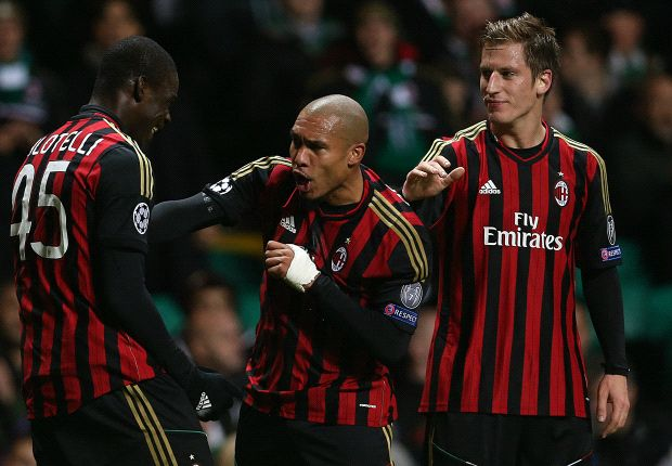 Celtic 0-3 AC Milan: Kaka & Balotelli on target to end hosts' qualification hopes