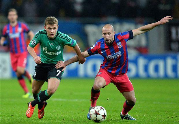 Schalke y Steaua se hicieron daño