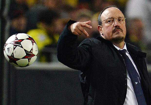 Benitez: Napoli 'on the right path'