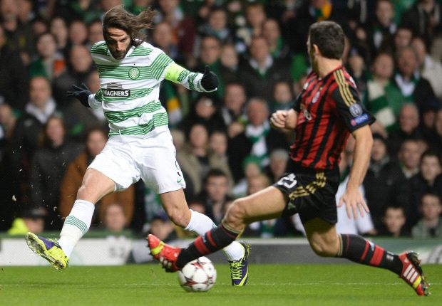 Lazio keen on Celtic striker Samaras
