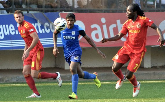 Dempo fail to secure full points