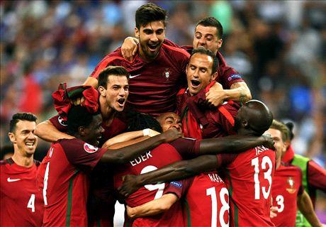 Eder wins first major trophy for Portugal