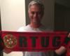 Mou festejó el campeonato de Portugal