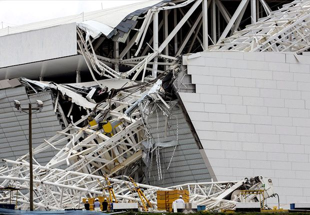 Fifa expresses 'great sadness' at Corinthians Arena tragedy