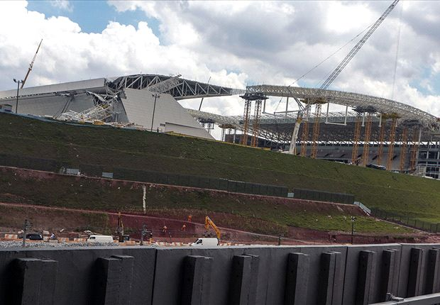 Two dead in World Cup stadium accident