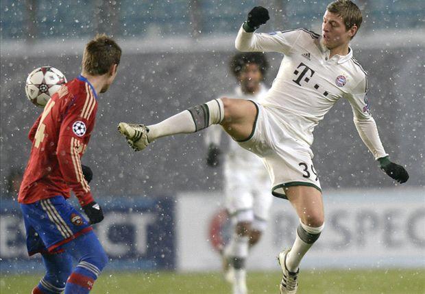 Toni Kroos zog auch im Frost von Moskau die Fäden