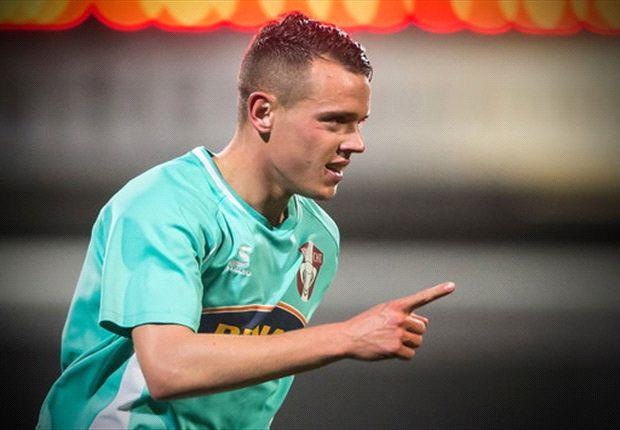 Korte is momenteel clubtopscorer bij koploper Dordrecht