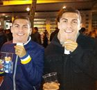 Face off: Madrid fans don Ronaldo masks