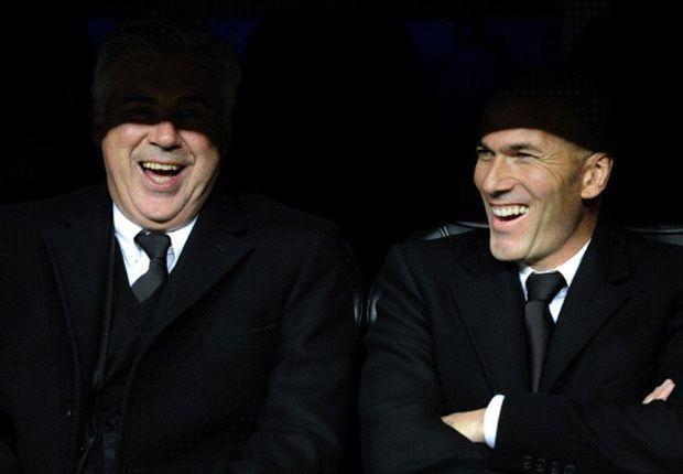 Ancelotti: Zidane key to Real Madrid success