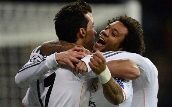 Alvaro Arbeloa Marcelo Real Madrid Galatasaray Champions League 11272013