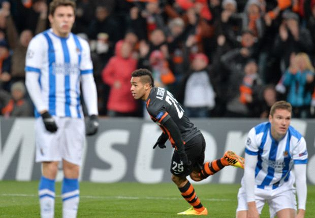 Shakhtar Donetsk 4-0 Real Sociedad: Douglas Costa double sends Spaniards out of Europe