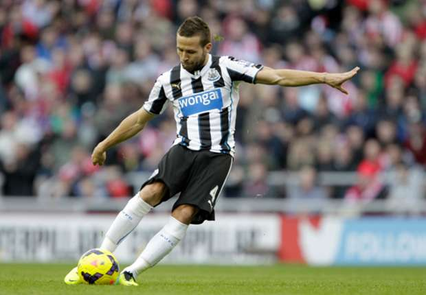Pardew shares Cabaye's Champions League dream