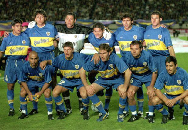 Boca 2000: equipo histórico
