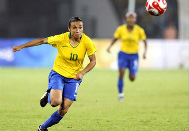 Marta inspires Brazil to Women's World Cup warm-up win