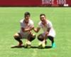 Sevilla presentó a Kranevitter y a Joaquín Correa