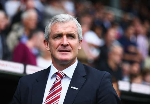 Stoke boss Hughes targets top-10 spot ahead of Everton trip