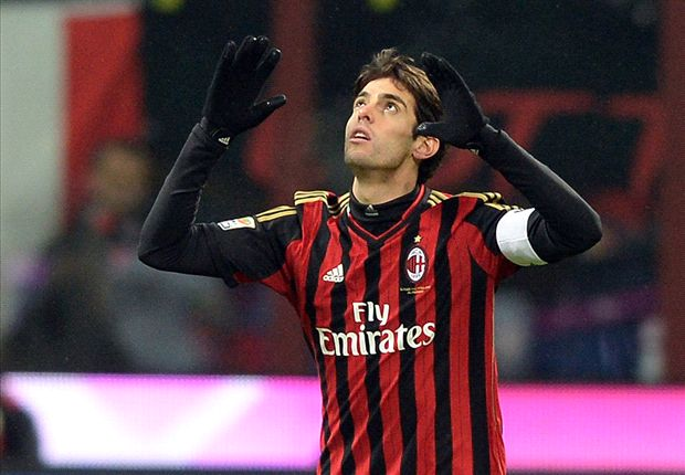 Kaka targets 100th Milan goal after 'difficult' time at Real Madrid