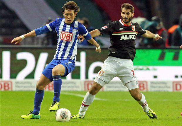 Zwischen Hertha Berlin mit Hajime Hosogai und dem FC Augsburg mit Halil Altintop fielen keine Tore