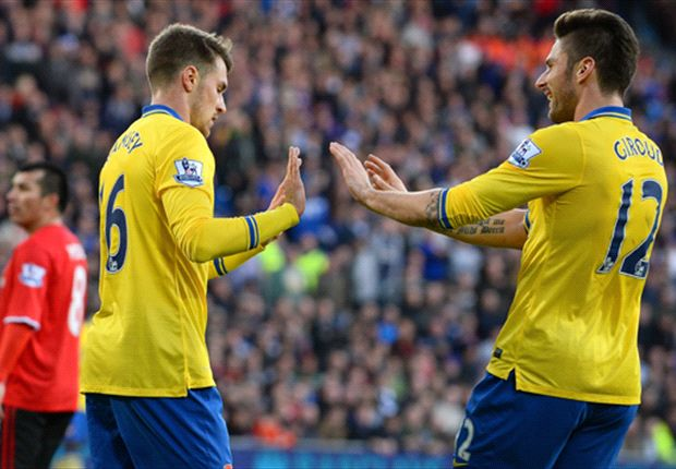 Cardiff City 0-3 Arsenal: Ramsey & Flamini fire Gunners seven points clear