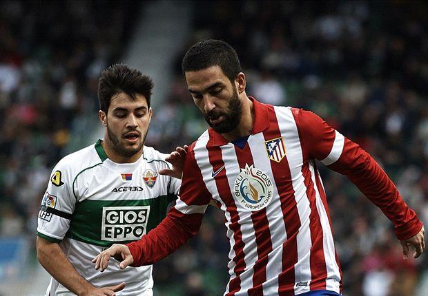 Atlético nestelt zich naast Barcelona
