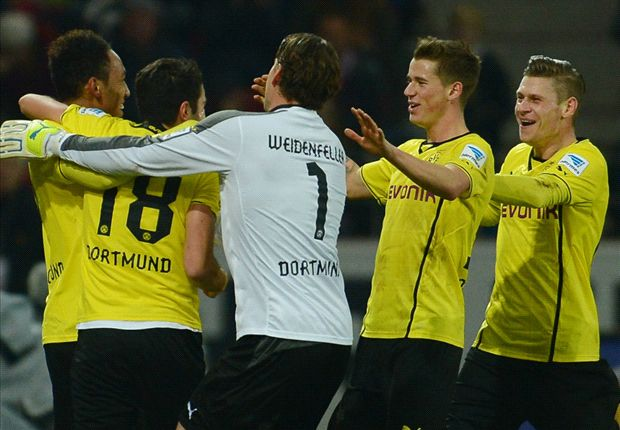 Mainz 1-3 Borussia Dortmund: Lewandowski makes hosts pay the penalty