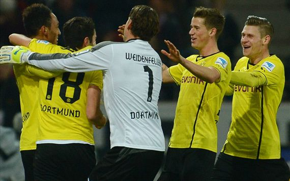 Dortmund beat Mainz after late drama