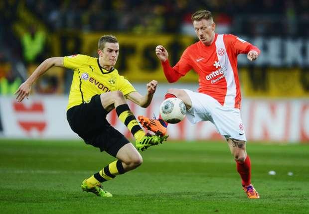 Strafschoppen helpen Dortmund langs Mainz