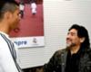 Maradona: Ronaldo keşke Arjantinli olsaydı!