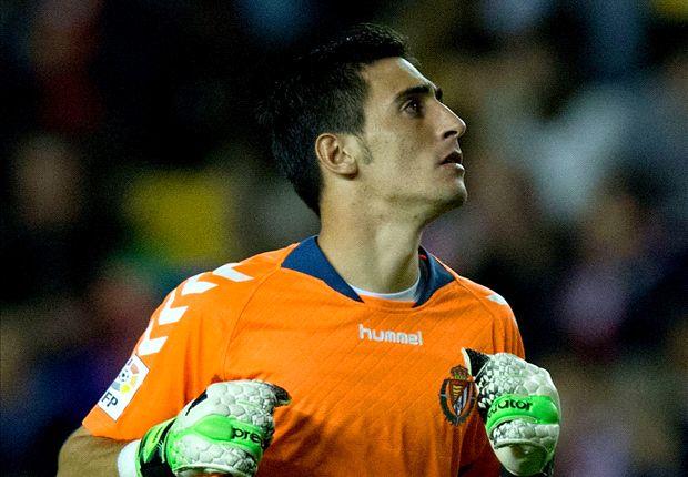 Diego Mariño, guardameta del Real Valladolid