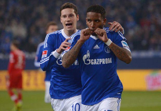 Daumenjubler: Jefferson Farfan führte Schalke 04 zum Sieg