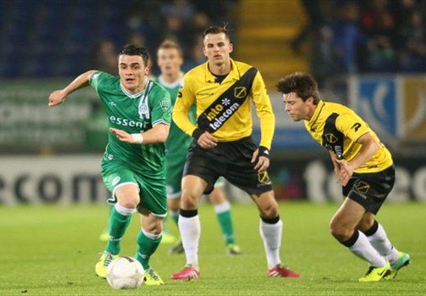 FC Groningen ontsnapt laat in Breda