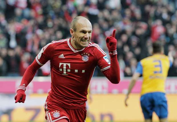 Robben tells Bayern to take 'first step' over contract extension