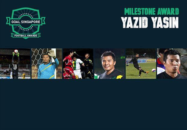Milestone Award: Yazid Yasin
