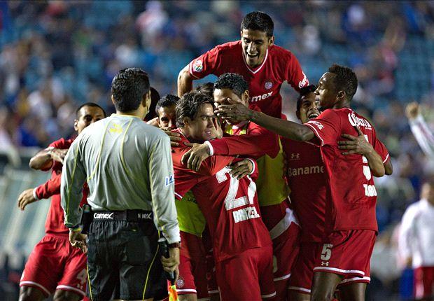 Toluca, Leon take lead in Liga MX semis