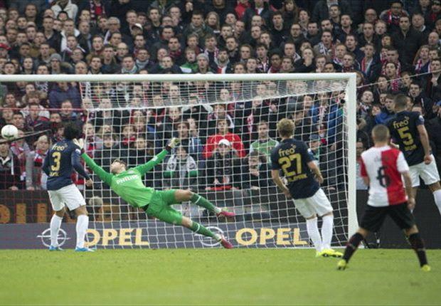 Feyenoord drukt PSV dieper in de zorgen