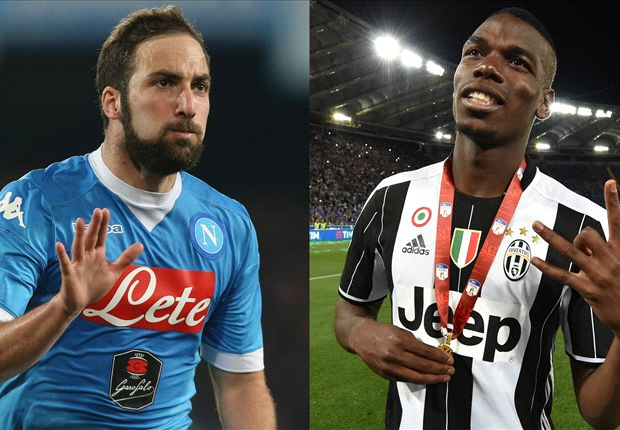 'Juve are using the Pogba money!' - Man Utd fans react to Higuain bid