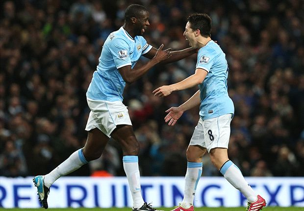 Manchester City 3-0 Swansea City: Negredo & Nasri secure routine victory