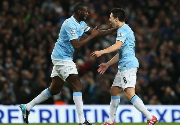Nasri revival at Manchester City down to Pellegrini, says Yaya Toure