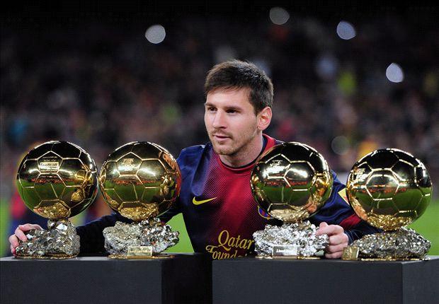 Lionel Messi, finalista junto a Ribery y Ronaldo del Balón de Oro.