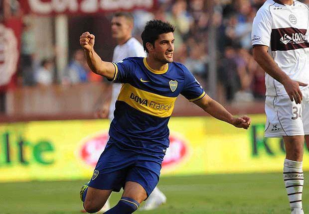 Blandi arrancó el torneo como titular en Boca