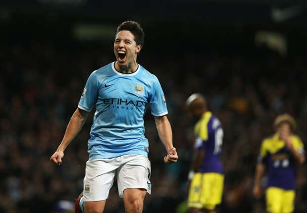 Nasri relishing 'important' role, says Pellegrini