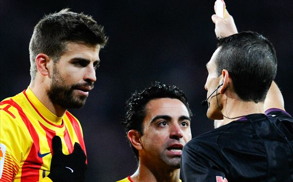 'The referee did not do his job' - Busquets