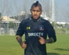 Vidal entrena con Colo Colo