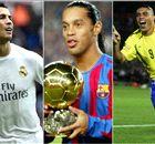 Ronaldos, Manés, Coutinhos... Os 'xarás' do futebol!