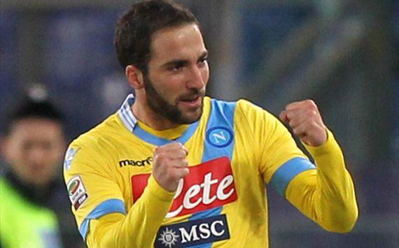 Gonzalo Higuain Lazio Napoli Serie A