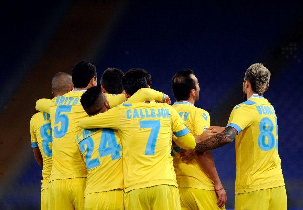 Napoli feiert den Sieg gegen Lazio
