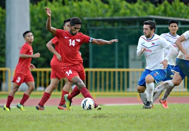 Singapore Under-23 captain Hariss Harun will lead the quest for gold in Myanmar. (Photo: FAS)